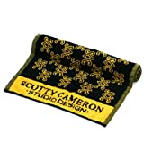Scotty Cameron Golf Towel Limited SC Diamond Patterned Black & Gold 37'' x 20''