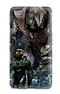 AwyriVD2248pMOyG Tpu Case Skin Protector For Galaxy Note 3 Beautiful Halo Army With Nice Appearance