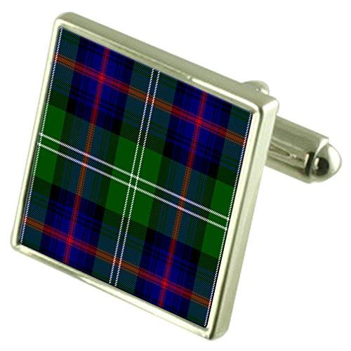 Clan écossais Sutherland Sterling Silver Cufflinks