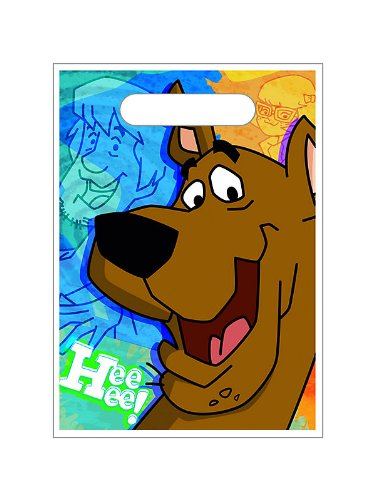 Scooby-Doo Mod Mystery Treat Bags Party Accessory by Hallmark (Treat Scooby Doo Bags)