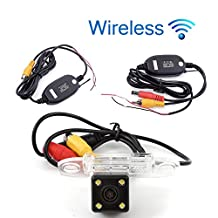 Wireless Vehicle Tracked Backup Camera High Definition CCD Car Rear View Camera for Volvo S80L/S40L/S80/S40