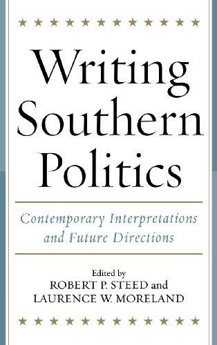 Writing Southern Politics