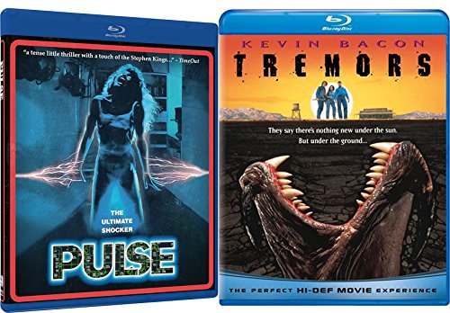 Tremors + Pulse Shock horror Blu-ray Collection 2 Movie Bundle Set