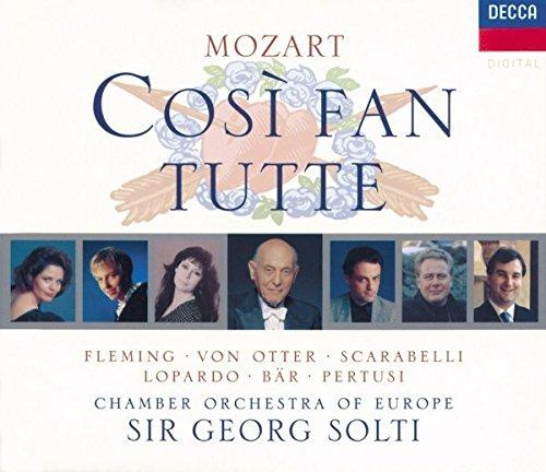 Mozart - Così fan tutte / Fleming, von Otter, Scarabelli, Lopardo, Bär, Pertusi, Solti