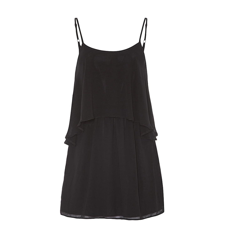 Anastasia - Geschichteten Schlüsselloch Zurück Sommer Kleid