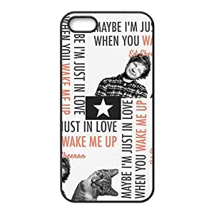 JIUJIU Cute cat and naughty boy Cell Phone Case for Iphone 5s