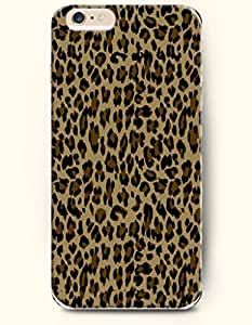 For HTC One M7 Case Cover Case with of Chocolate And Black Leopard Stripe - Animal Print -Authentic Skin