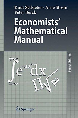 Economists' Mathematical Manual