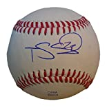Pittsburgh Pirates Travis Snider Autographed Hand Signed Baseball with Proof Photo of Signing, Toronto Blue Jays, Baltimore Orioles, Kansas City Royals, Texas Rangers, COA
