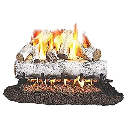 amazon com rh peterson co standard white birch gas logs 24 inch rh amazon com