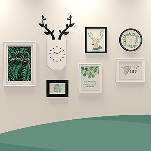 XK.DARLY Wall Home Decor DIY Picture Frames Collage Set Includes Picture Hanging for Living room Bedroom by XK.DARLY