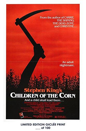 Rare Poster stephen king Children Of The Corn 1984 linda hamilton movie giclee Reprint