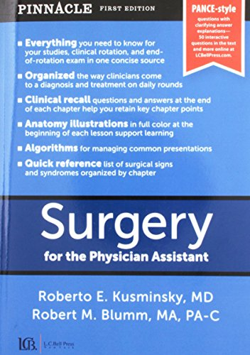Surgery for the Physician Assistant