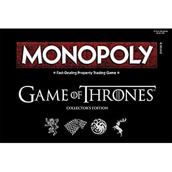Monopoly Game Of Thrones Board