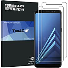 Samsung Galaxy A8+/A8 Plus 2018 Screen Protector, TopACE Premium Quality Tempered Glass 0.3mm Film for Samsung Galaxy A8+/A8 Plus 2018 6.0-inch (2 Pack)
