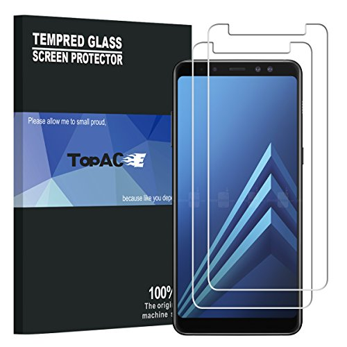 tempered glass for galaxy a8 2018