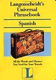 Universal Phrasebook, Langenscheidt Publishers Staff, 0887294170