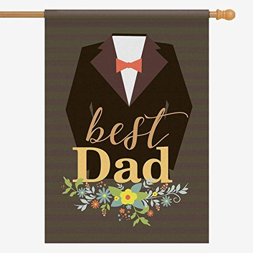 ArneCase Garden Flag Double Sided Printed Father's day 28 x