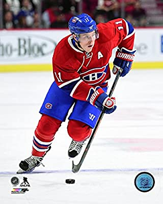 "Brendan Gallagher Montreal Canadiens NHL Action Photo (Size: 11"" x 14"")"