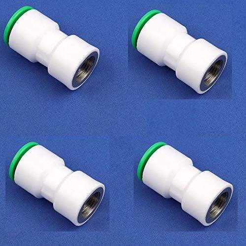 1/2 3/4インチ PPR水道管 クイックコネクター ストレートプラグコネクト 20 / 25mm水道管継手