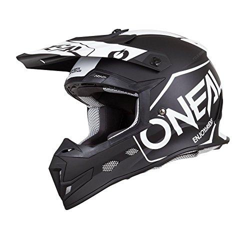 O'Neal Unisex-Adult Off Road 5SERIES Helmet(HEXX) (Black, X-Large)