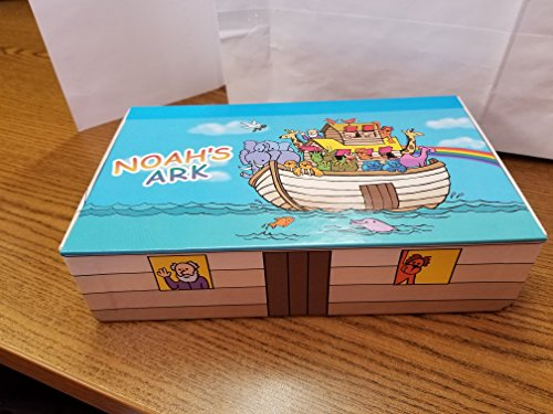Noahs Ark, 8 9/16 in. L x 5 in. W x 2 1/4 in. H,