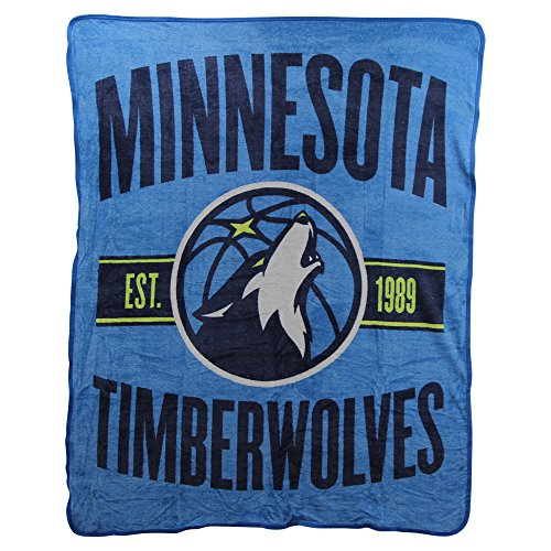 The Northwest Company NBA Clear Out Super Soft Plush Throw Blanket (Minnesota (Minnesota Classic Blanket)