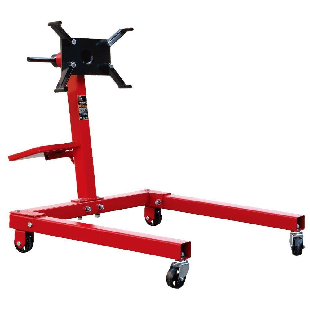 ES1250 567kg Engine Stand Shop Pro Hoist Automotive Lift Rotating 4 Leg Motor