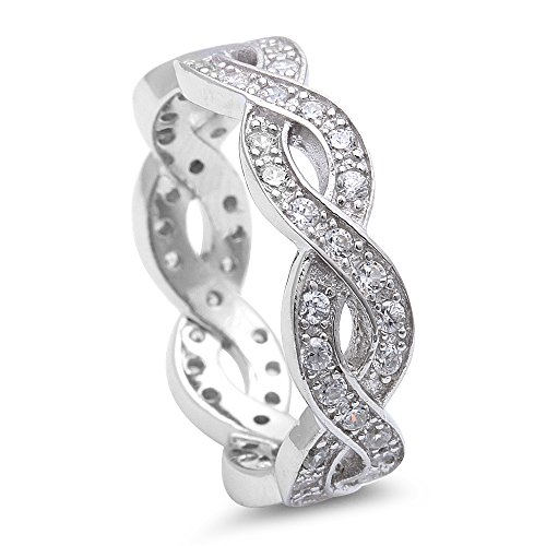 Sterling Silver Infinity Design Eternity product image