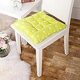 DZT1968(TM) Chair Cushion Pads Soft Home Office Square Cotton Polka Dot Seat Buttocks Cushion (C)