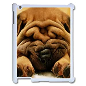 KSDHPNECASE Hot Selling Cover Custom Case Of Cute Dog,Handmade customized case For IPad 2,3,4