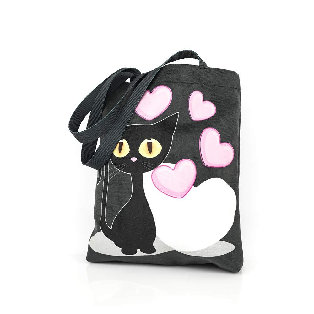 Shellbag Gatto Black Cat Collection con broccato piccola borsa Topolina Borsa a tracolla per fan dell'unicorno Modello 2018 Manufacturing company