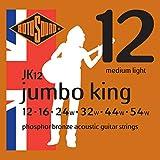 Rotosound JK12 Jumbo King Acoustic Guitar Strings (12-54)