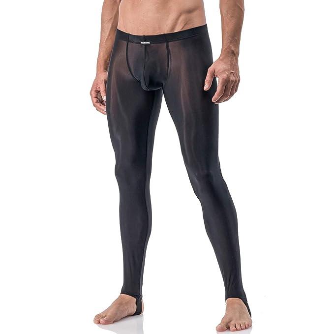 Amazon.com: MANstore para hombre Strapped Leggings M101 ropa ...
