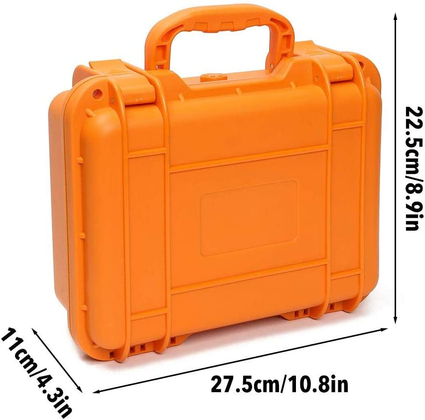 goodshare Drone Carrying Case Waterproof Hard Shell Storage Bag Box Travel Suitcase for Mavic Mini Drone 3 Batteries Accessories