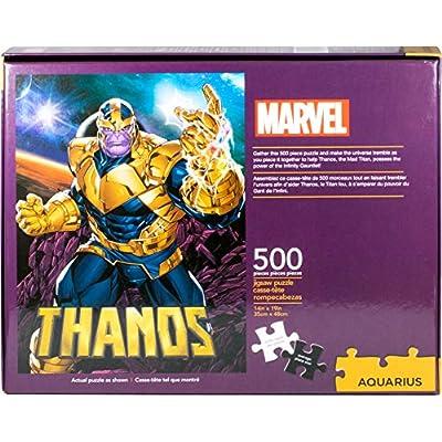 Aquarius Marvel Thanos 500pc Puzzle, Multi-Colored: Toys & Games