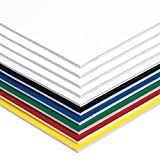 Pacon Foam Board, 6 Assorted Colors, 20'' x 30'', 10 Sheets