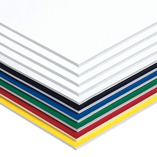 Pacon Foam Board, 6 Assorted Colors,  20