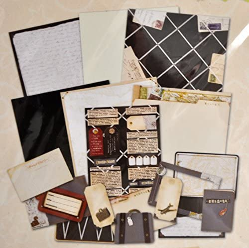 Scrapbook Pages Kit 12 x 12 Travel Theme Colorbok Perfect Pages Dimensional Makes 6 Pages