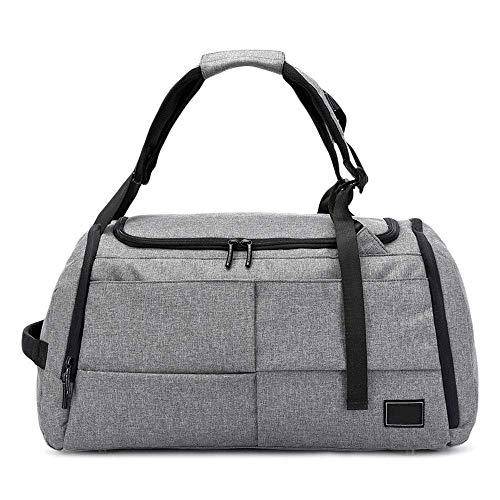 da di uomo bluastro borsa stoccaggio borsa viaggio per sportiva Zhanghongj grigio multifunzionale scarpe gAxwRq5Rz