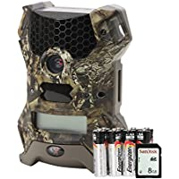 Wildgame Innovations VISION 12 Combo Pack Vision 12 Lightsout with Batteries & SD Card, Mossy Oak