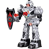 Remote Control Robot For Kids - RoboAttack - Super Fun Toy RC Robot - Fires Foam Missiles, Talks, Walks & Dances By ThinkGizmos