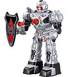 Remote Control Robot For Kids - Superb Fun Toy RC Robot - Shoots Foam Missiles, Walks, Talks & Dances By ThinkGizmos ®