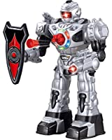 Remote Control Robot For Kids - Superb Fun Toy RC Robot - Shoots Foam Missiles, Walks, Talks & Dances By ThinkGizmos ®