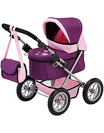 Bayer Design Cochecito de muñeca, Trendy Color rosa, lila 13057