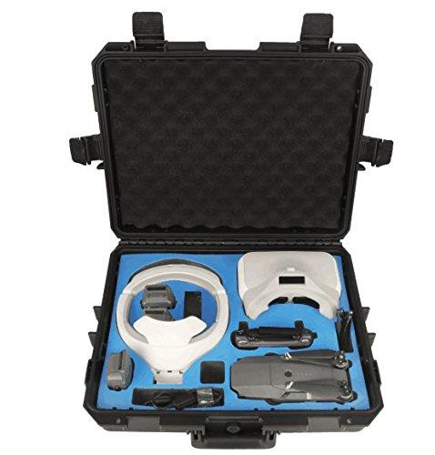 プラスチックHardcase for DJI Mavic Pro and VR Goggle   B07DG2YZTS