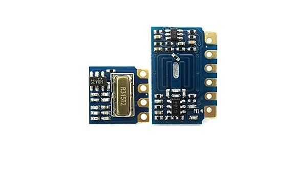 Mini RF Transmitter Receiver Module 315MHz Wireless Link Kit