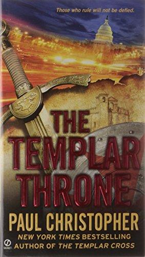 book cover of The Templar Throne
