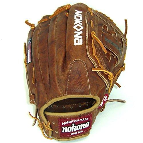 Nokona Walnut WB-1300 Fielding Glove (13') - RHT - WB-1300-RHT
