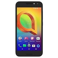 "Smartphone Alcatel A3 5046JH Preto, Dual Chip, Tela 5"", Câm. 8MP, 16GB, TV Digital, 4G. Android 6.0"